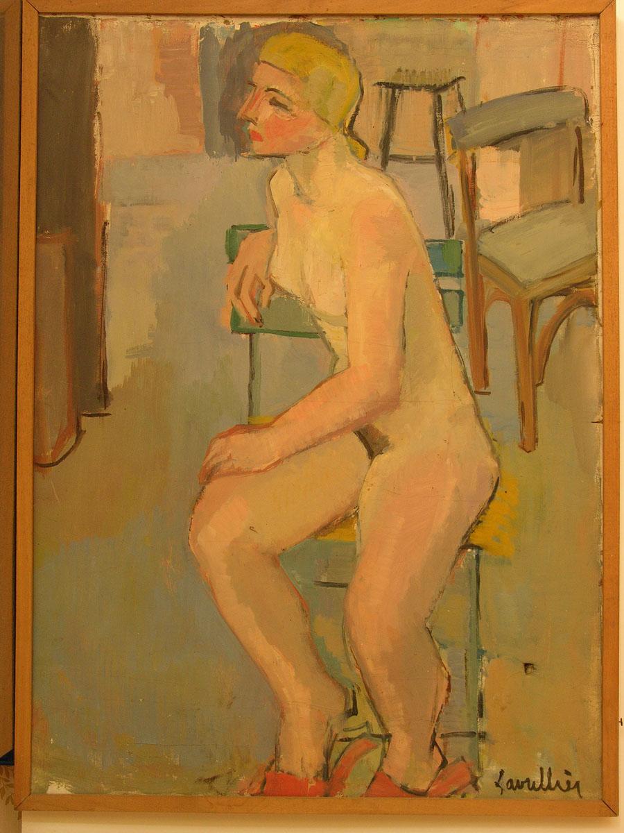 Etude femme nue blonde - Nadia Lavrillier - Photo Carol-Marc Lavrillier