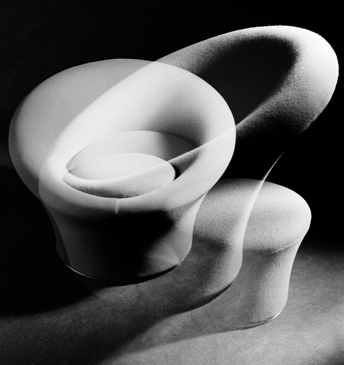 Mushroom - Pierre Paulin - 1955 - Artifort - Photo Carol-Marc Lavrillier